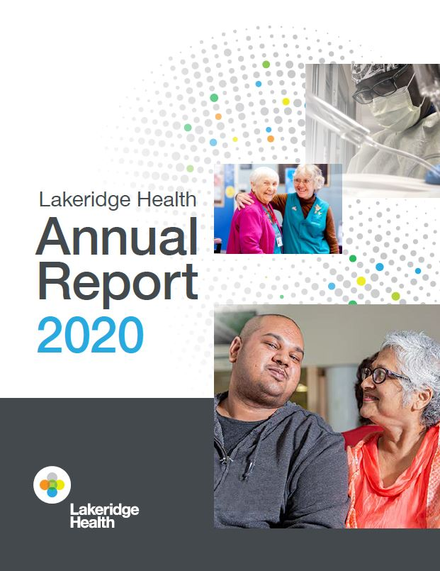 Lakeridge Health Annual Report 2020