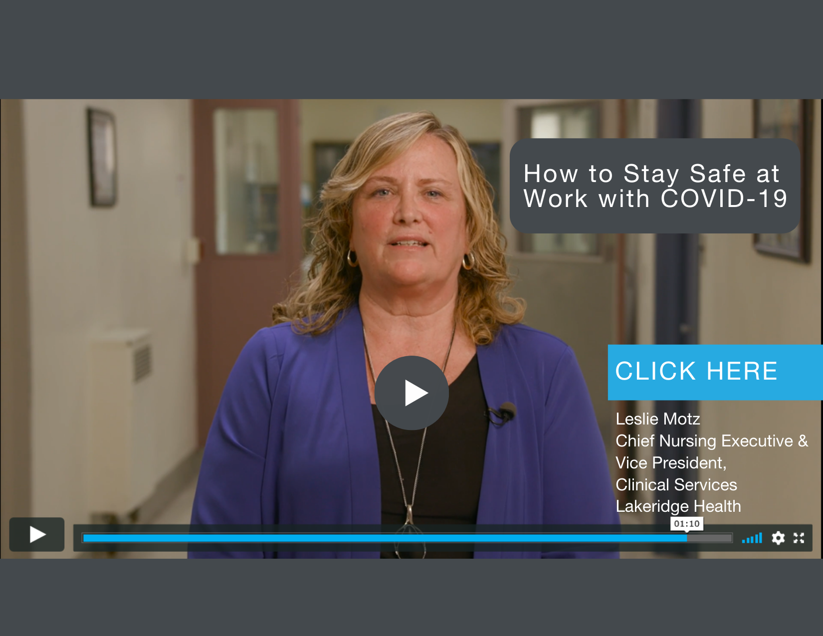 Open to video How to stay safe at work with COVID-19