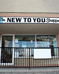 Exterior of New to You shop