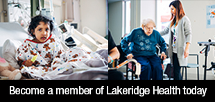 Become a member of Lakeridge Health